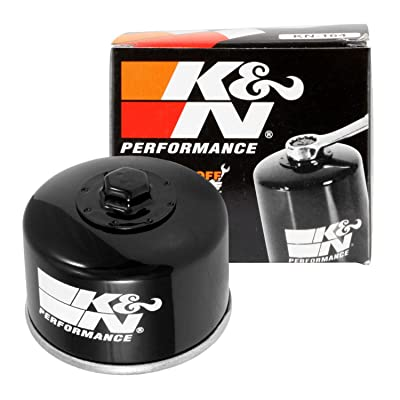 K&N Motorcycle Oil Filter: High Performance, Premium, Designed to be used with Synthetic or Conventional Oils: Fits Select BMW Motorcycles, KN-164: Automotive