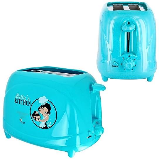 Betty Boop -Grille Pain Toaster Petit Déjeuner Tartine Betty Boop ...