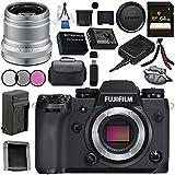 Fujifilm X-H1 Mirrorless Digital Camera (Body Only) 16568731 XF 50mm f/2 R WR Lens (Silver) 16536623 Bundle