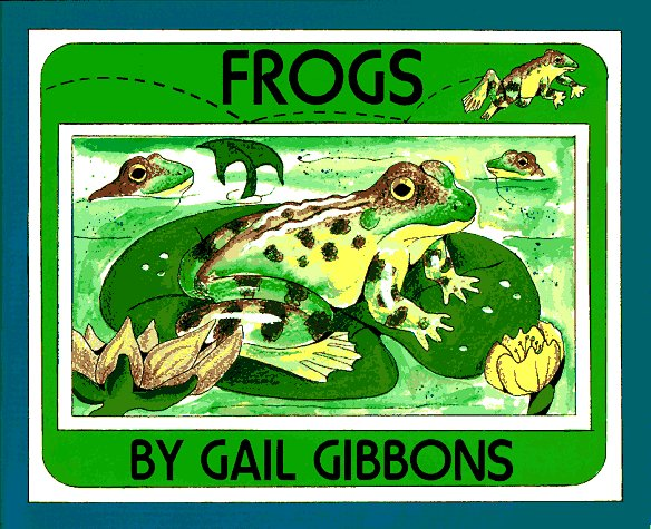 frogs life cycle book for kids