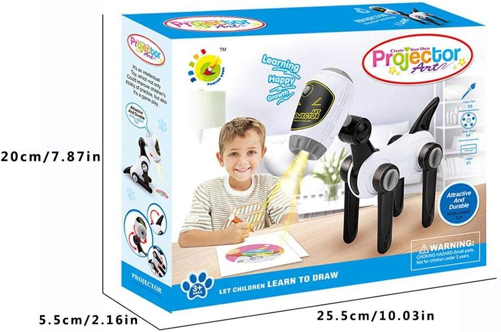 Motto.H Proyector Infantil de Dibujo, Dibujo En Forma De Perro De ...