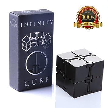 Infinity Cube Zappeln Spielzeug Luxus Edc Laviert Spiel Für