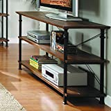 Homelegance Factory Modern Industrial Style Sofa Table, Rustic Brown Review