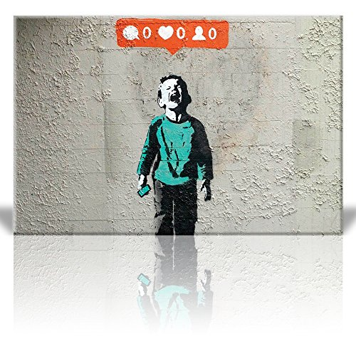 Wall26 - Canvas Print Wall Art - Nobody likes me - Kid screa