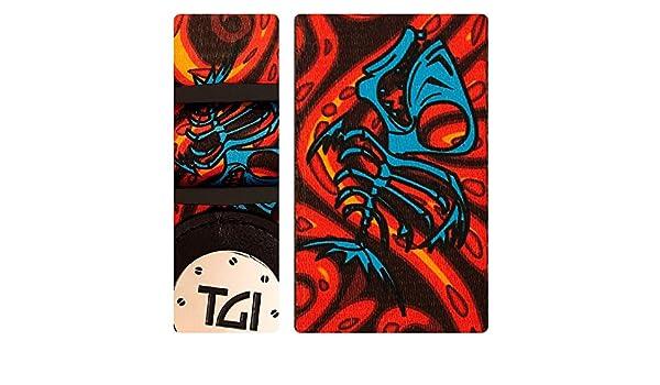 TGI tgs28232 pescado huesos diseño correa para guitarra: Amazon.es ...