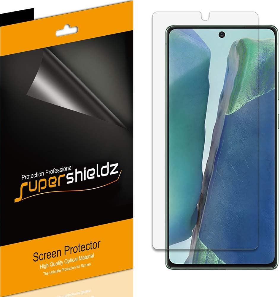 6 Protectores de Pantalla para Samsung Galaxy Note 20