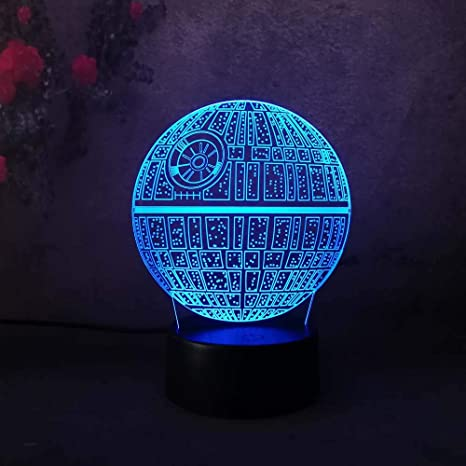 Amazon.com: Amore 2018 Star Wars - Lámpara de mesa y ...