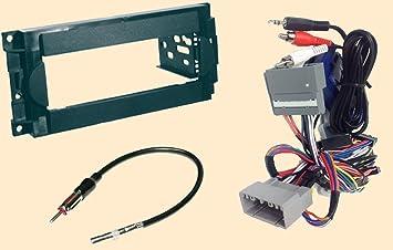 619GLA6otKL._SX355_ amazon com radio stereo install dash kit steering control  at alyssarenee.co