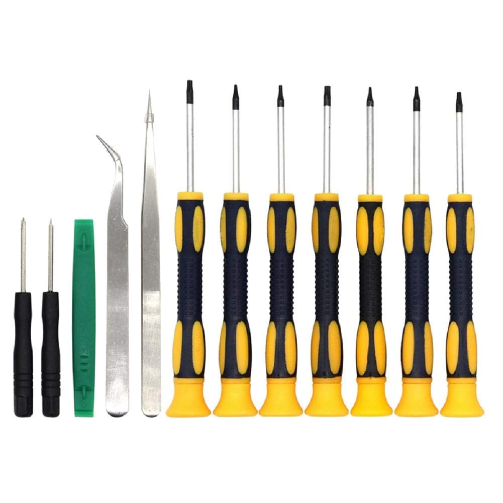 Heilsa 12 in 1 Precision Screwdriver Set, Screwdriver Torx Screwdriver Set Disassemble Tool for Mobile Phone