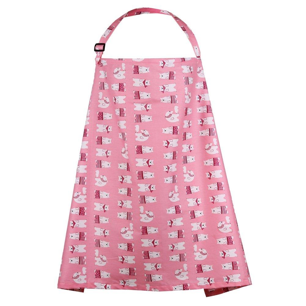 Blaward Cubierta de Enfermería Lactancia Materna/Fular Portabebés Pañuelo/Mantas de Lactancia Cubierta de Lactancia materna/Cubierta del Cochecito de Bebé Dibujos Animados