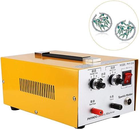 Pulse Argon Jewelry Spot Welder ARC Laser Welding Machine for Necklace Silver