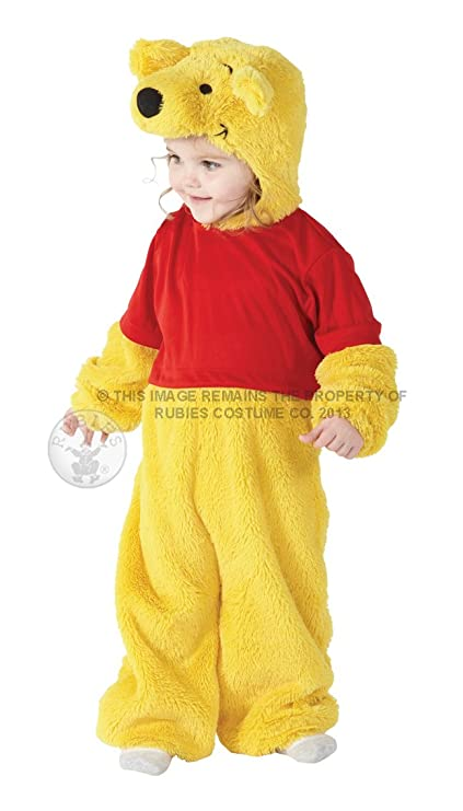 3cfb47f38c35 Rubie s Official Toddler Winnie the Pooh Fancy Dress Disney Childs Book  Character Costume Outfit Infant Ages