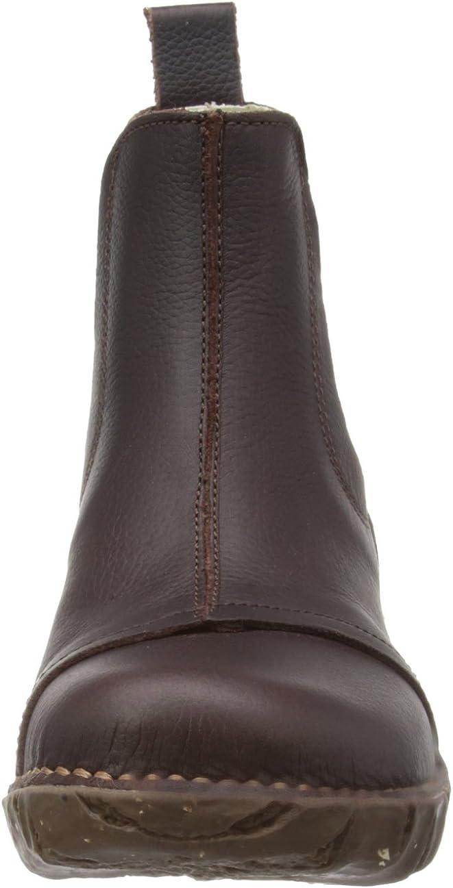 El Naturalista Damen Schlupfstiefel N158 YGGDRASIL Soft Grain Rioja Rot