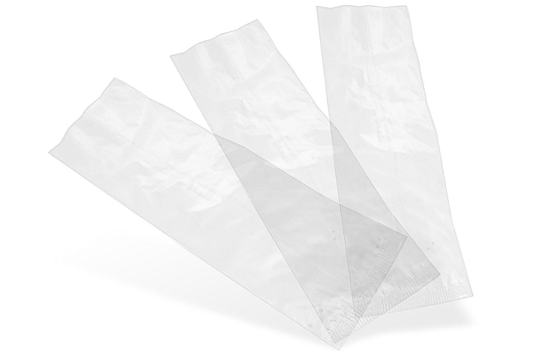 1x1000 Vegware Compostable Clear Natureflex Bags 70x210mm