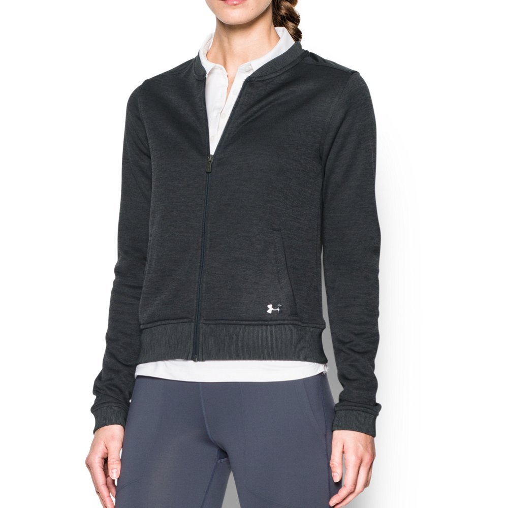 Under Armour UA Storm SweaterFleece Full Zip Bomber XS Asphalt Heather