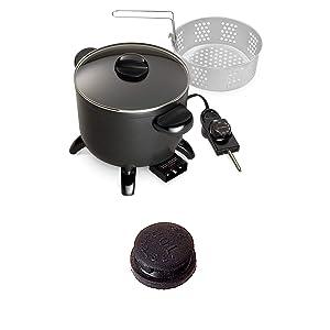 HOT OFFER 06006 Kitchen Kettle Multi-Cooker/Steamer with BONUS