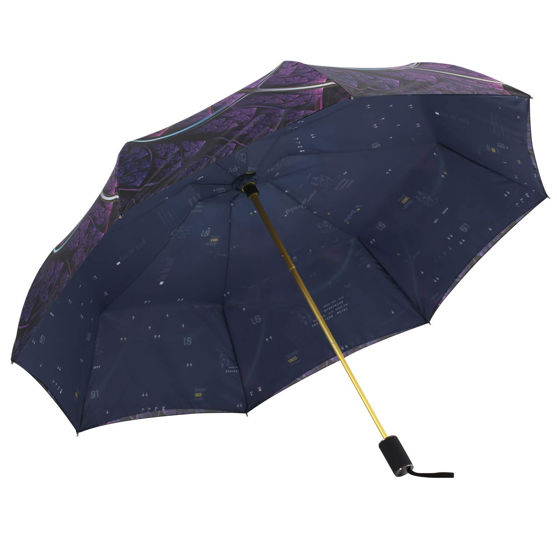 ec1ba05ddef1 Kobold Double Layer Flower Umbrella UV Protection for Women Compact  Windproof Travel Folding Umbrellas with Teflon Coating