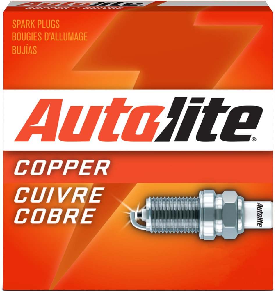 Amazon.com: Autolite 104-4PK Copper Resistor Spark Plug, Pack of 4: Automotive