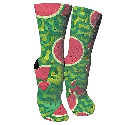 3a88ffc93cf98 Amazon.com: Xixioou Red Watermelon Compression Socks Training Socks ...