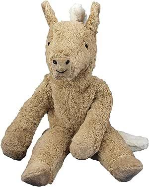 "Senger Stuffed Animals - Organic Cotton Beige Horse 12"""