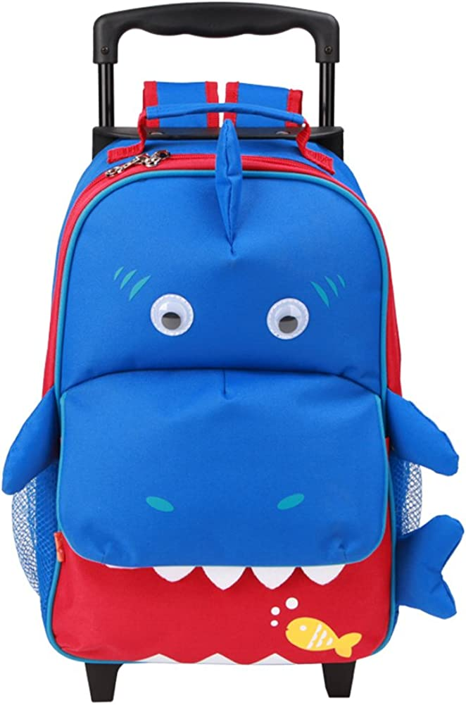 Yodo 3-Way Kids Suitcase Luggage or Toddler Rolling Backpack with wheels