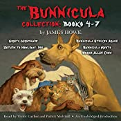 The Bunnicula Collection: Books 4-7: Nighty-Nightmare; Return to the Howliday Inn; Bunnicula Strikes Again!; Bunnicula Meets Edgar Allan Crow | James Howe