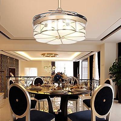 RS Iluminación de techo ventiladores con LED 42 cm moderna ...