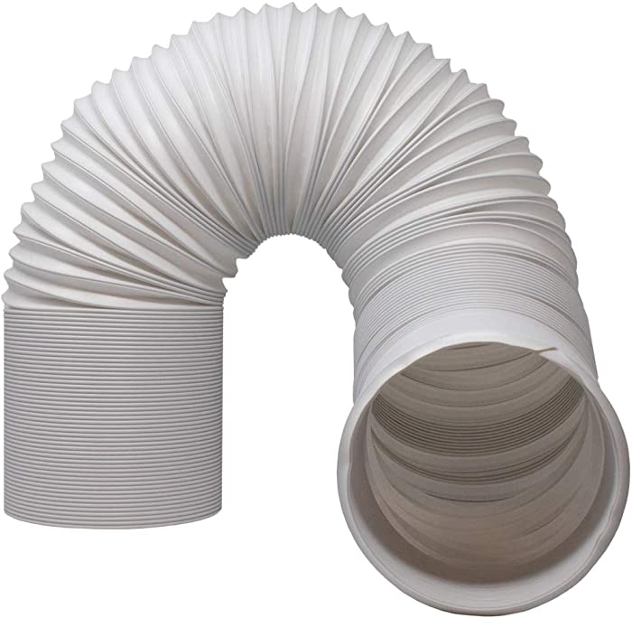 """Kraftex Air Conditioner Hose. Portable Exhaust Vent with 5"""" Diameter - Length up to 80"""". Great for LG, Delonghi and Many More Portable Air Conditioners. AC Hose to Stop Leaks and Save Energy (5"""")"""