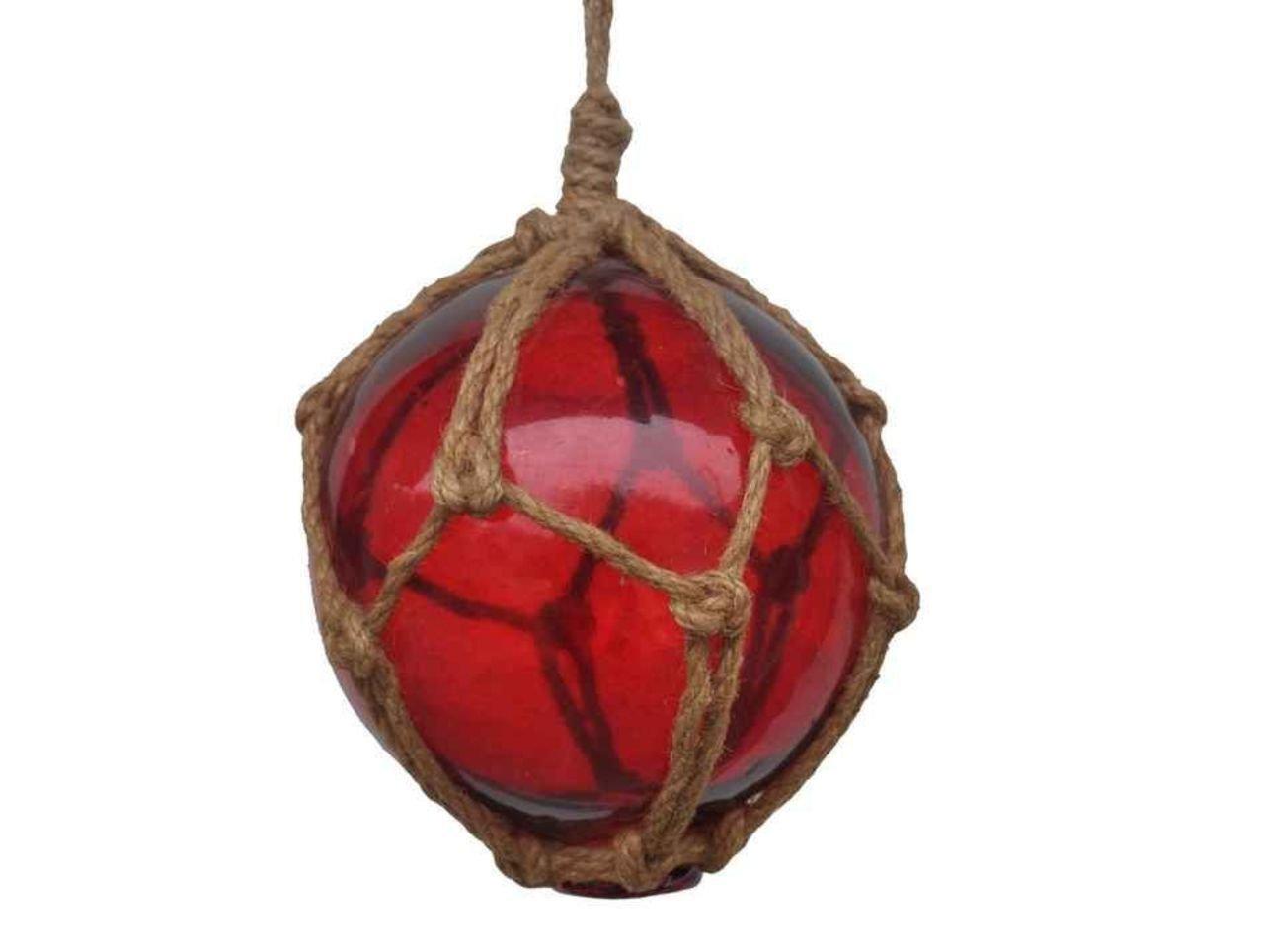 Amazon.com: Hampton Nautical Amber Japanese Glass Ball Fishing Float ...