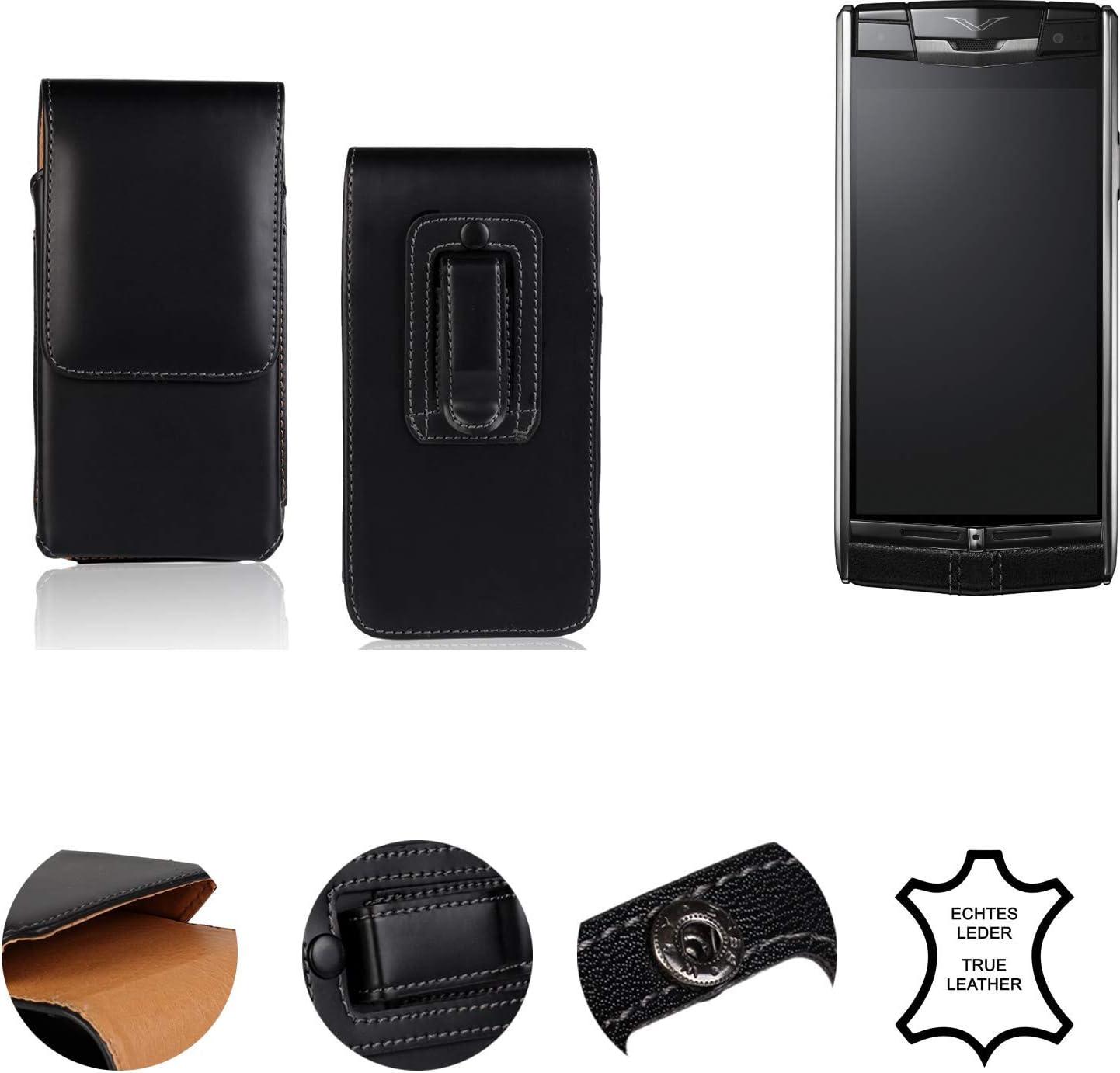 K-S-Trade® Funda para Vertu Signature Touch, La Bolsa De Cinturón ...