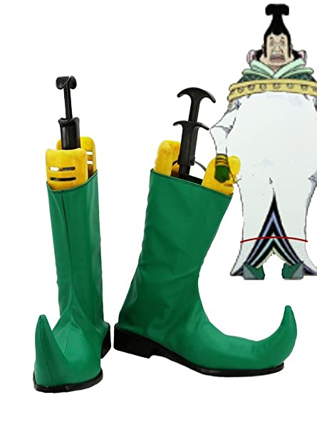 One Piece Anime Denon People Cosplay Shoes Boots Custom Made