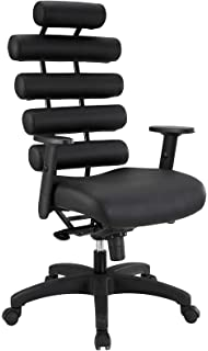 unico office chair. Modway Pillow Office Chair, Black Unico Chair