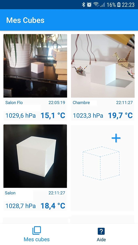 Kit mont/é en 1 Heure TOST Corp Kit Station m/ét/éo WiFi avec Thermom/ètre//Barom/ètre