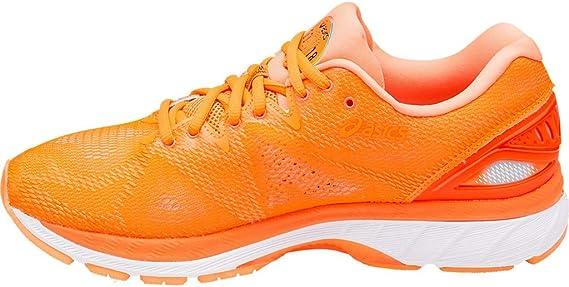 ASICS Gel-Nimbus 20 Barcelona - Zapatillas de Running para Hombre, Color Naranja: Amazon.es: Zapatos y complementos