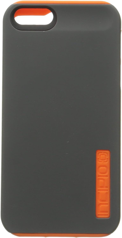 Incipio DualPro Case for iPhone 5S - Retail Packaging - Gray/Orange