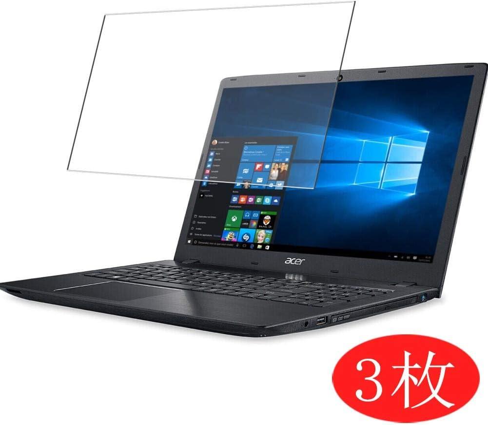 "【3 Pack】 Synvy Screen Protector for Acer Aspire E5-521 / E5-521G / E5-522 / E5-522G / E5-523 / E5-523G 15.6"" TPU Flexible HD Film Protective Protectors [Not Tempered Glass]"