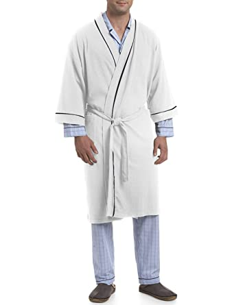 Image Unavailable. Image not available for. Color  Majestic International  Big   Tall Knit Kimono Robe 453584908