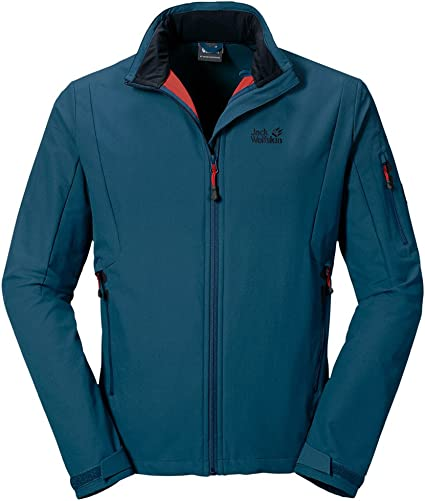 includere Produzione Allegare a  Jack Wolfskin MUDDY PASS XT JACKET MEN moroccan blue: Amazon.de: Bekleidung