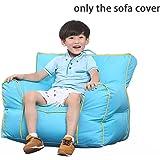 Quwei Children Leisure Creative Rolling Bean Bags Sofa Sets (blue)