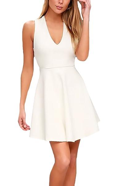 Vestidos cortos blancos amazon