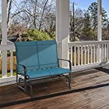 Sophia & William Patio Glider Rocking Chair for 2