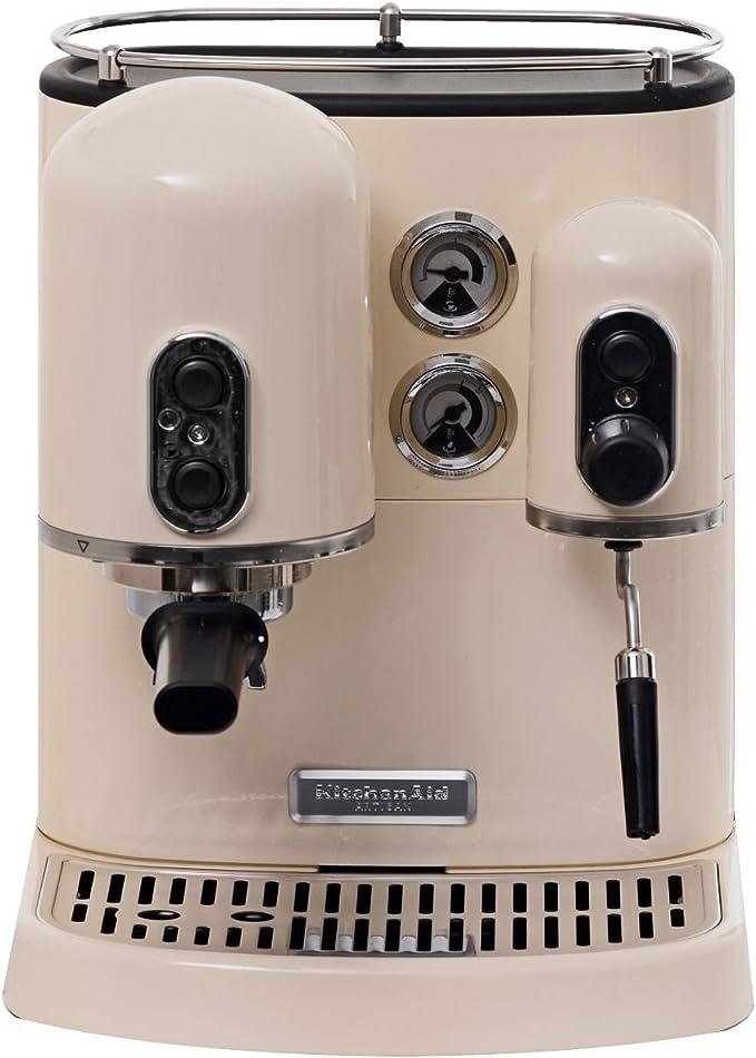KitchenAid 5KES2102EAC - Cafetera combinada espresso/goteo, diseño rustico: Amazon.es: Hogar
