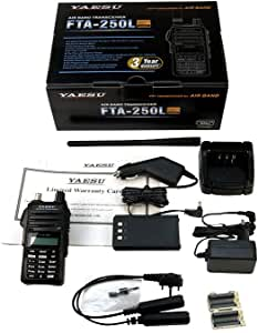 YAESU FTA-250L Transceptor Banda Aerea Frecuencia Am ...