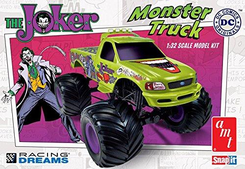 AMT 1:32 Scale Snap Joker Monster Truck Model ()