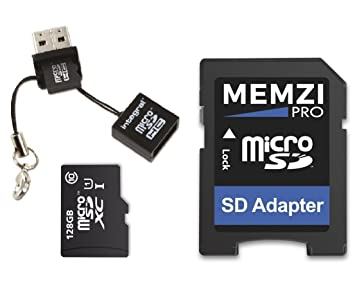 Memzi Pro 128 GB Clase 10 80 MB/s tarjeta de memoria Micro ...