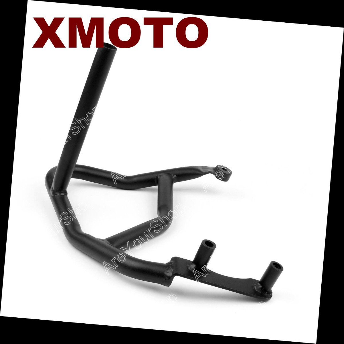 HK MOTO Motorcycle Crash Saftey Bars Protection Compatible with Bmw F800//700//650//Gs 2008-2013 Black