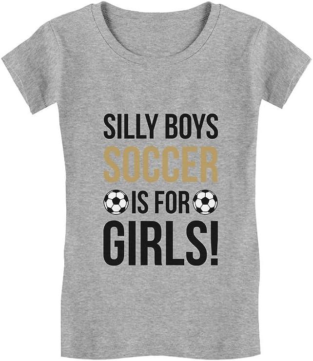 Silly Boys Softball Is For Girls Softball Fan Gift Girls/' Fitted Kids T-Shirt