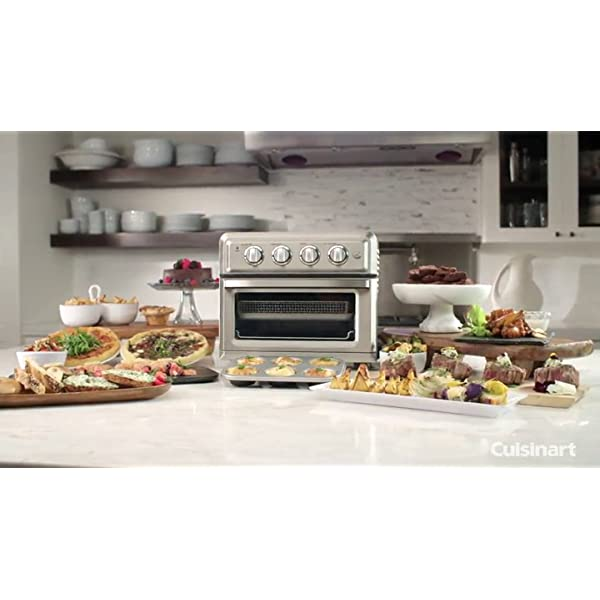 Cuisinart TOA-60 Convection Toaster Oven Airfryer, Silver 7