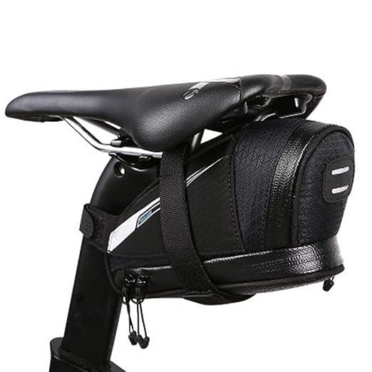 LERDBT Bolsas para Cuadros de Bicicleta Bolsa de sillín de ...