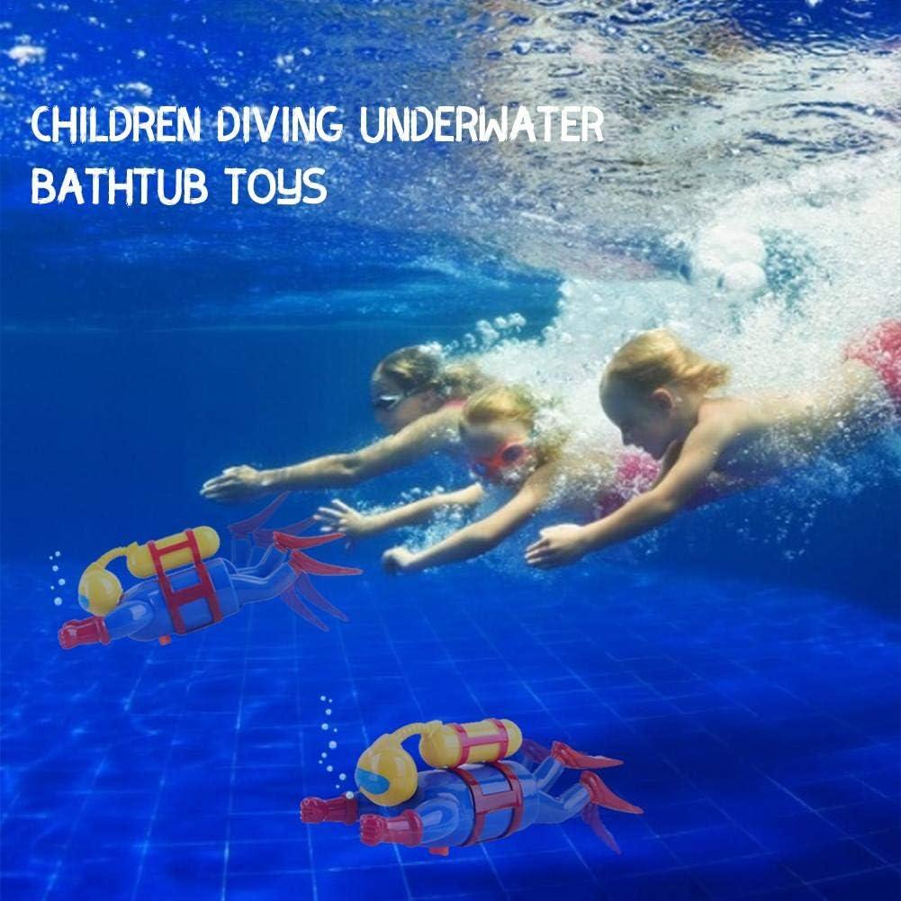 Vasca da Bagno Nuoto Figura Subacquea per Bambino Yunhigh-uk novit/à Scuba Bath Time Giocattolo da Sub per Bambini